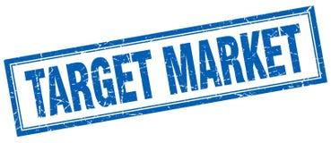 Target market stamp. Target market square grunge stamp. target market sign. target market vector illustration