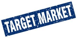Target market stamp. Target market grunge vintage stamp isolated on white background. target market. sign stock illustration