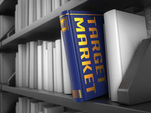 Target Market - Title of Book. Royalty Free Stock Photography