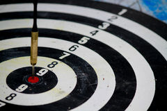 The Target of marketers all have to tackle. Stock Image
