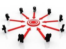 Target Marketing Royalty Free Stock Image