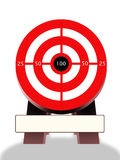 Target marketing action vector illustration