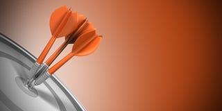 Target Marketing vector illustration