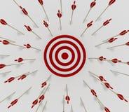 Target miss Royalty Free Stock Image