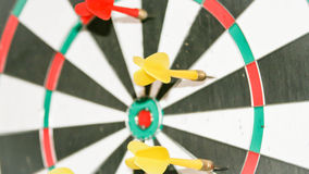 Target missed. Metaphore for business royalty free stock photos