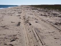 TARGET583_1_ Na Plaży Zdjęcia Stock