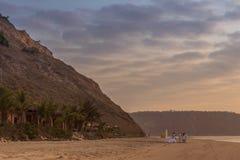TARGET153_1_ na plaży Obrazy Royalty Free