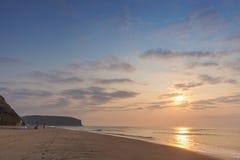 TARGET153_1_ na plaży Fotografia Royalty Free