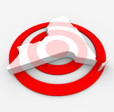 Target New York - Marketing Concept Royalty Free Stock Images