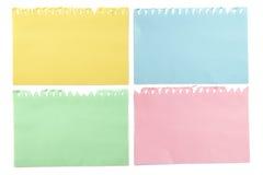 target43_1_ nutowy papierowej ścieżki cienia kleisty kolor żółty Zdjęcie Royalty Free