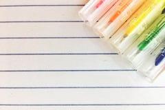 target43_1_ nutowy papierowej ścieżki cienia kleisty kolor żółty zdjęcie stock