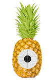 Target pineapple Royalty Free Stock Images