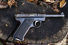 Target Pistol Royalty Free Stock Photography
