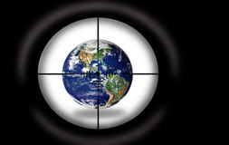 Target - Planet Earth Stock Photography