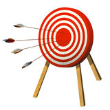 Target practice Royalty Free Stock Image