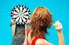 Target Practice 4 stock image