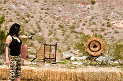 Target Practice Stock Image