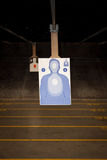 Target Practice at the Gun Range Stock Photography