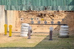 Target practice shooting Royalty Free Stock Images