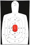 Target practice royalty free stock images