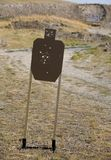 Target at the range Royalty Free Stock Images