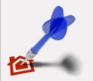 Target Real Estate Royalty Free Stock Photo