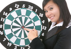 Target the Results Stock Images