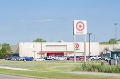 Target Retail Location off High Way Stock Photo