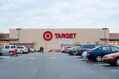 Target Retail Store. Target Sells Home Goods, Clothing and Electronics I. Edison, New Jersey December 16 2017: Target Retail Store. Target Sells Home Goods royalty free stock photos