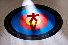 Target the right person Stock Photography
