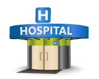 target1063_1_ rysujący ręki szpitalny ilustraci wektoru biel ilustracji