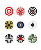 Target set Stock Photos