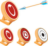 Target Set Royalty Free Stock Image