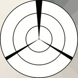 Target shape Royalty Free Stock Image