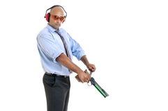 Target shooting Stock Image