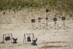 Target Shooting Royalty Free Stock Images