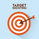 Target shooting Royalty Free Stock Image