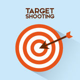 Target shooting Stock Photography