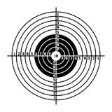 The target for shooting practice Stock Images