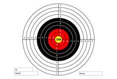 Target for the shooting range. Target for the shooting range Stock Photo