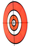 Target short focus isolated Royalty Free Stock Photography