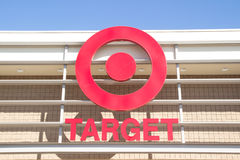 Target Store. JACKSONVILLE, FL-MARCH 1, 2014: A Target emblem at a store in Jacksonville. Target Corporation is the second-largest discount retailer in the stock images
