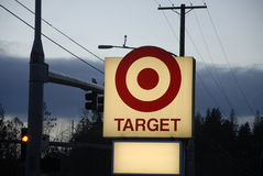 TARGET STORE. Buckley/Washington/USA_ 22 January 2016 _ Target store sign (Photo by Francis Joseph Dean/DeanPictures stock photography