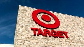 Target Store Exterior stock video