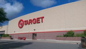 Target store. Outside of a Target store on a nice day royalty free stock photos