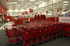 Target store retail Stock Photography