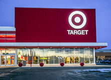 Target store in Sunridge Mall, Calgary Alberta. Royalty Free Stock Photos