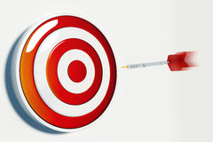 Target and  Success Royalty Free Stock Photo