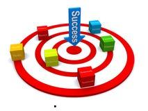 Target success Royalty Free Stock Image