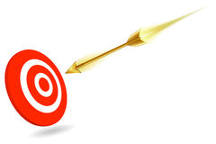On target for success Stock Image